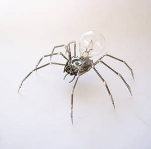 Mechanical Clockwork Spider No 26