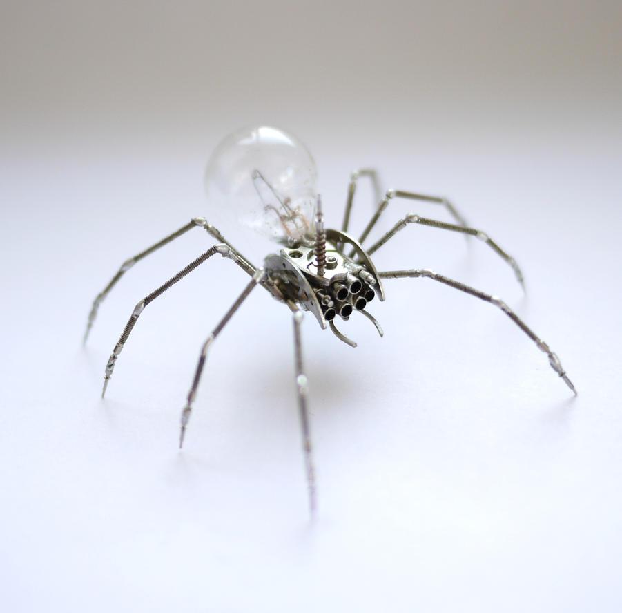 Mechanical Spider No 26 (V) by AMechanicalMind