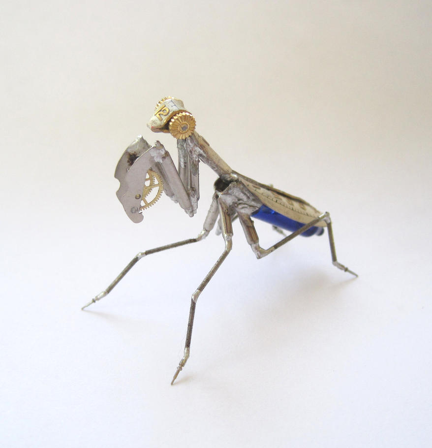 Mechanical Mantis No 9 by AMechanicalMind