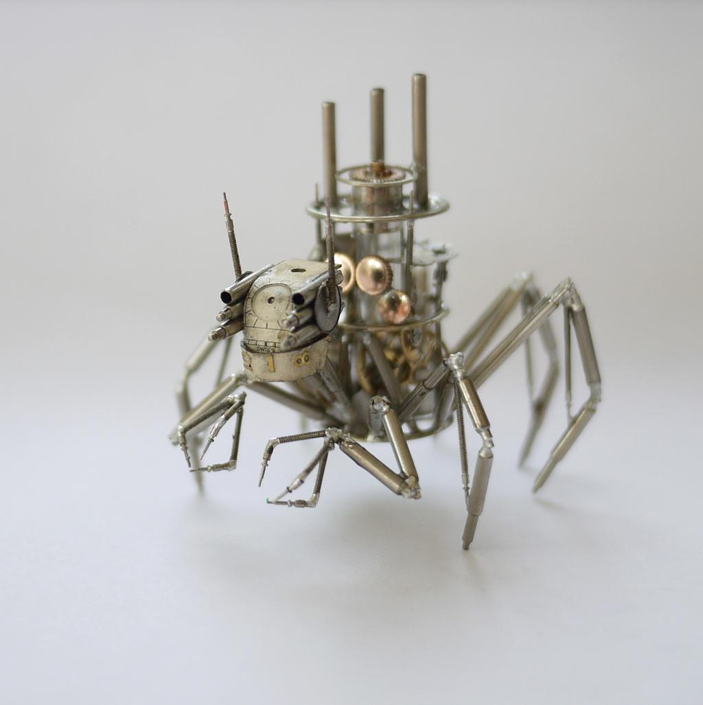 Arachnius Rex by AMechanicalMind