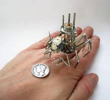 Arachnius Rex (III) hand for scale