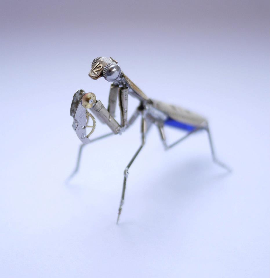 Mechanical Mantis No 7 by AMechanicalMind