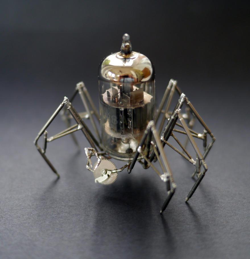 Vacuum Spider No 4 by AMechanicalMind
