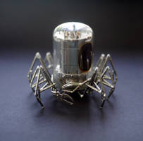 Vacuum Spider No 6 by AMechanicalMind