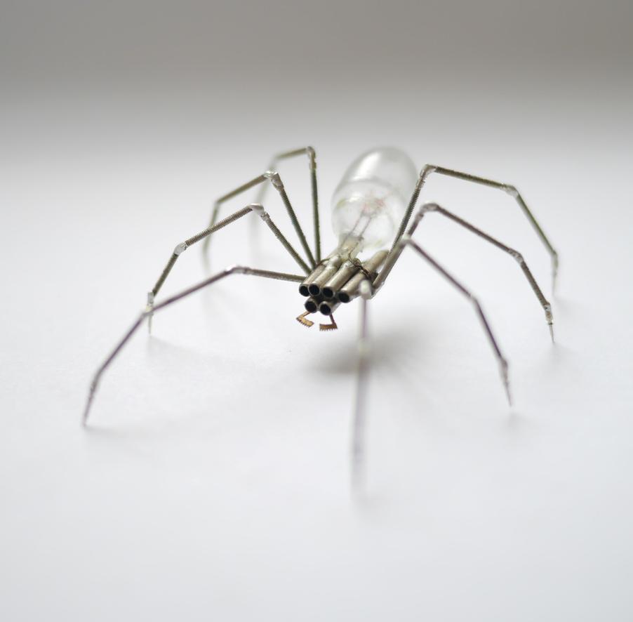 Clockwork Spider No 32 by AMechanicalMind