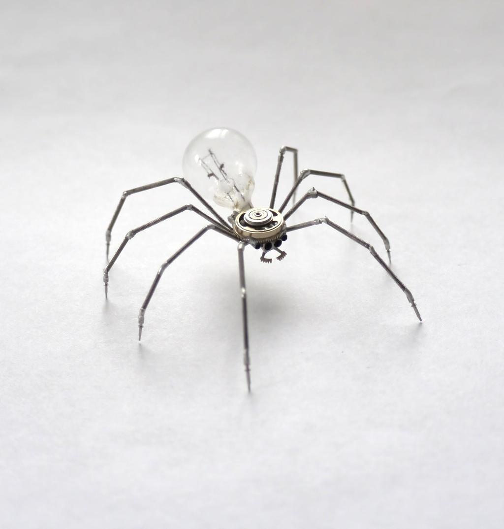 Clockwork Spider No 34 by AMechanicalMind
