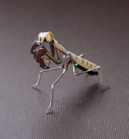 Clockwork Mantis No 15 by AMechanicalMind