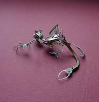 Clockwork Creature Slinker (III) by AMechanicalMind