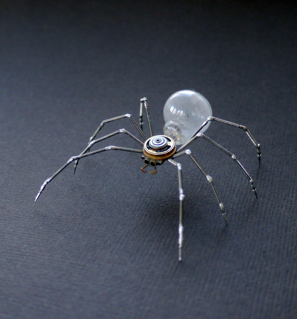 Clockwork Spider No 38 by AMechanicalMind