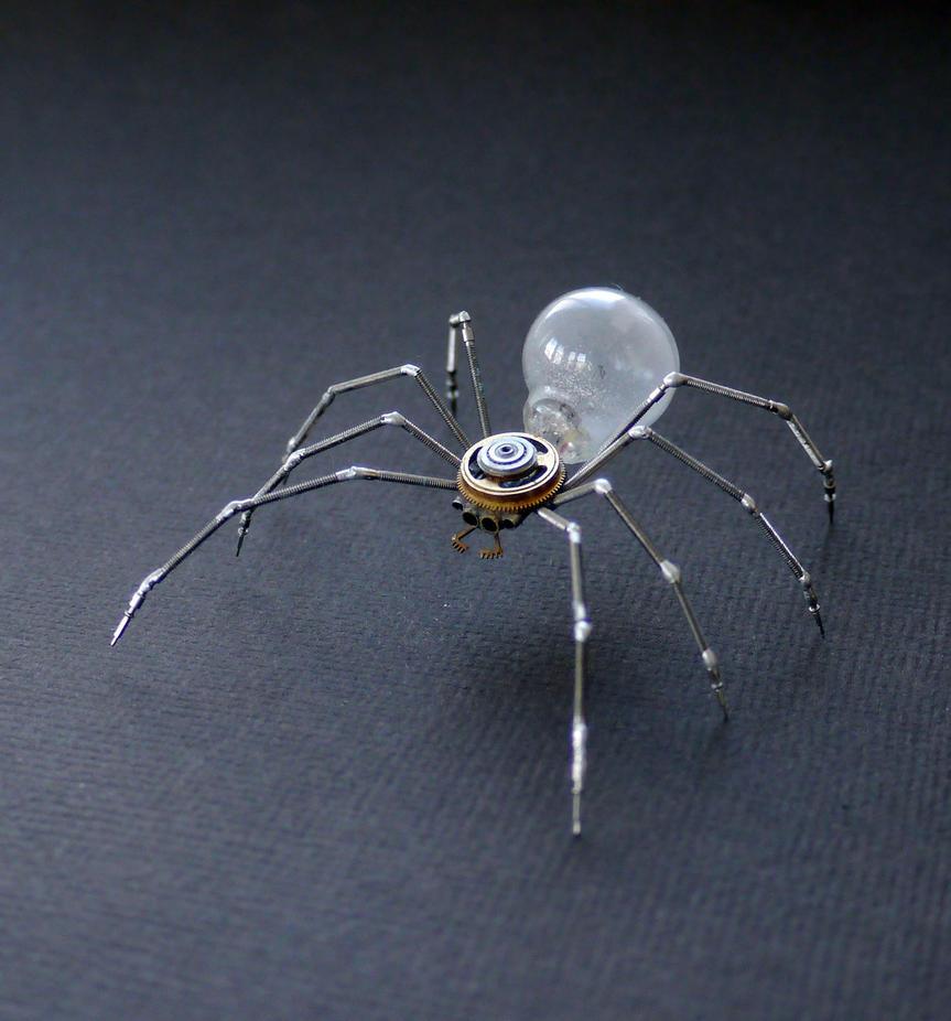 Clockwork Spider No 38 by AMechanicalMind