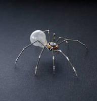 Clockwork Spider No 38 (II) by AMechanicalMind