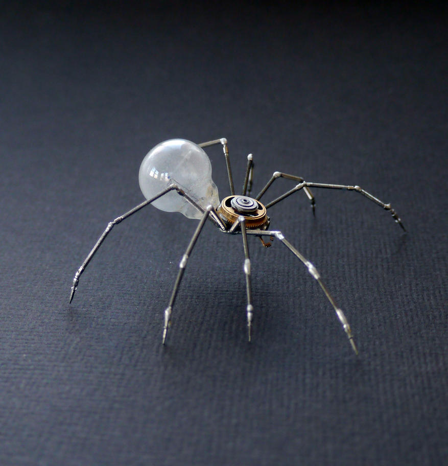 Clockwork Spider No 38 (II) by AMechanicalMind