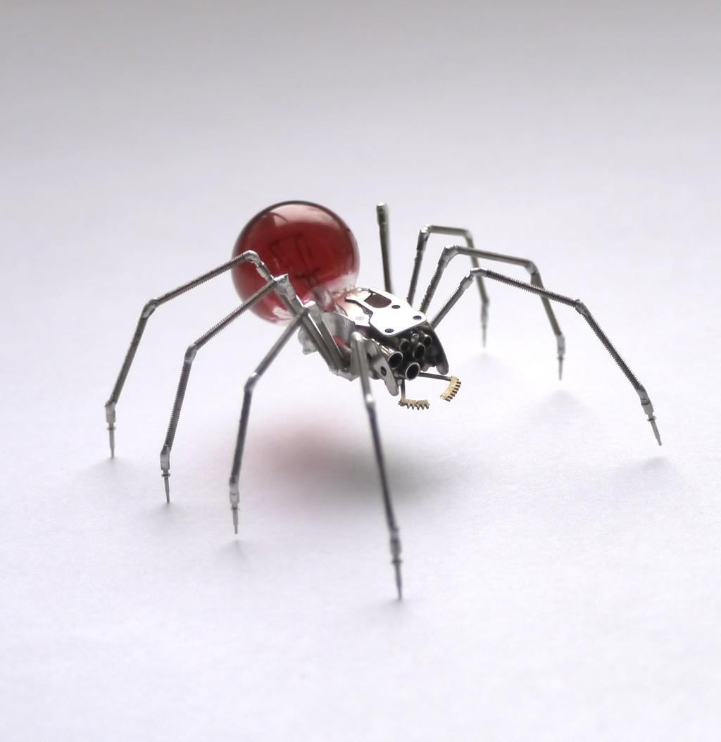 Clockwork Spider No 40 by AMechanicalMind