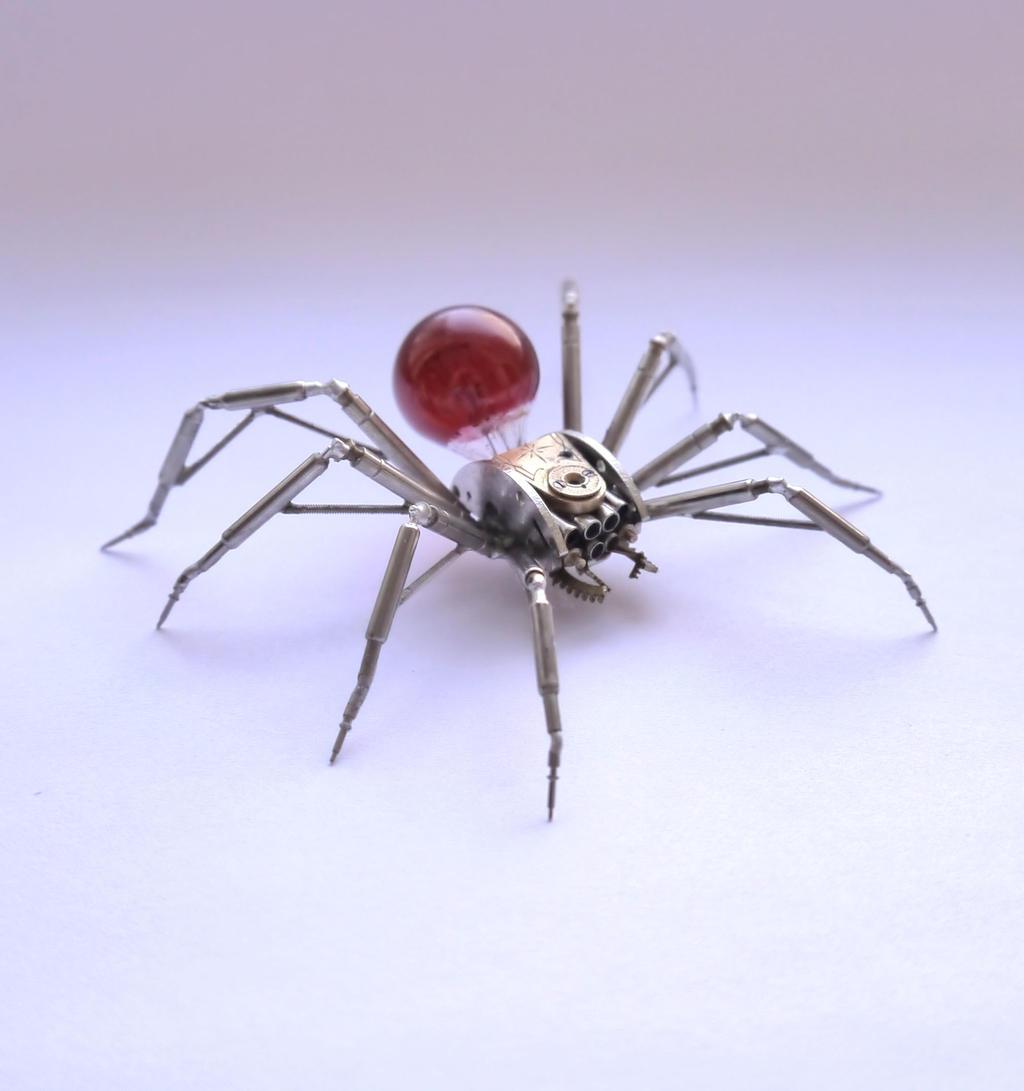 Clockwork Spider No 44 by AMechanicalMind