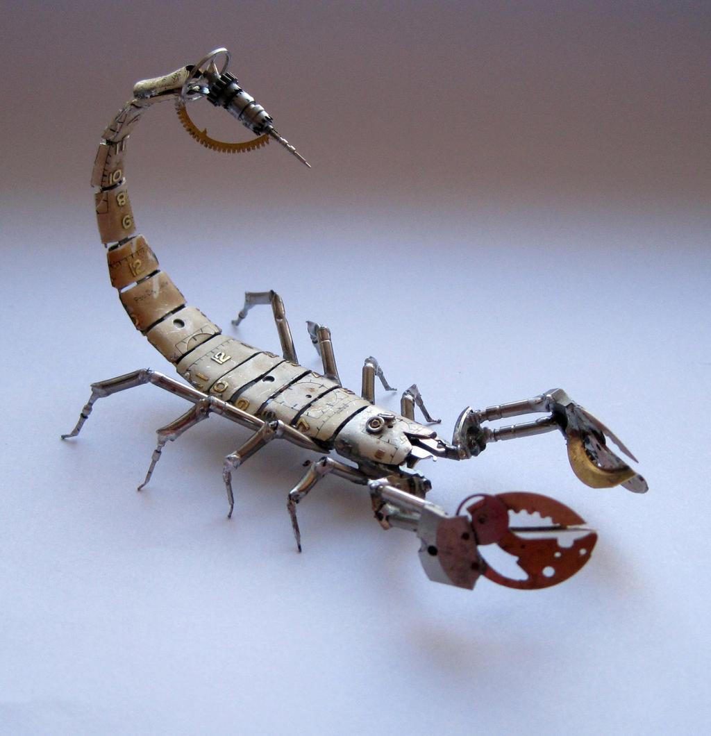 Mechanical Scorpion No 8