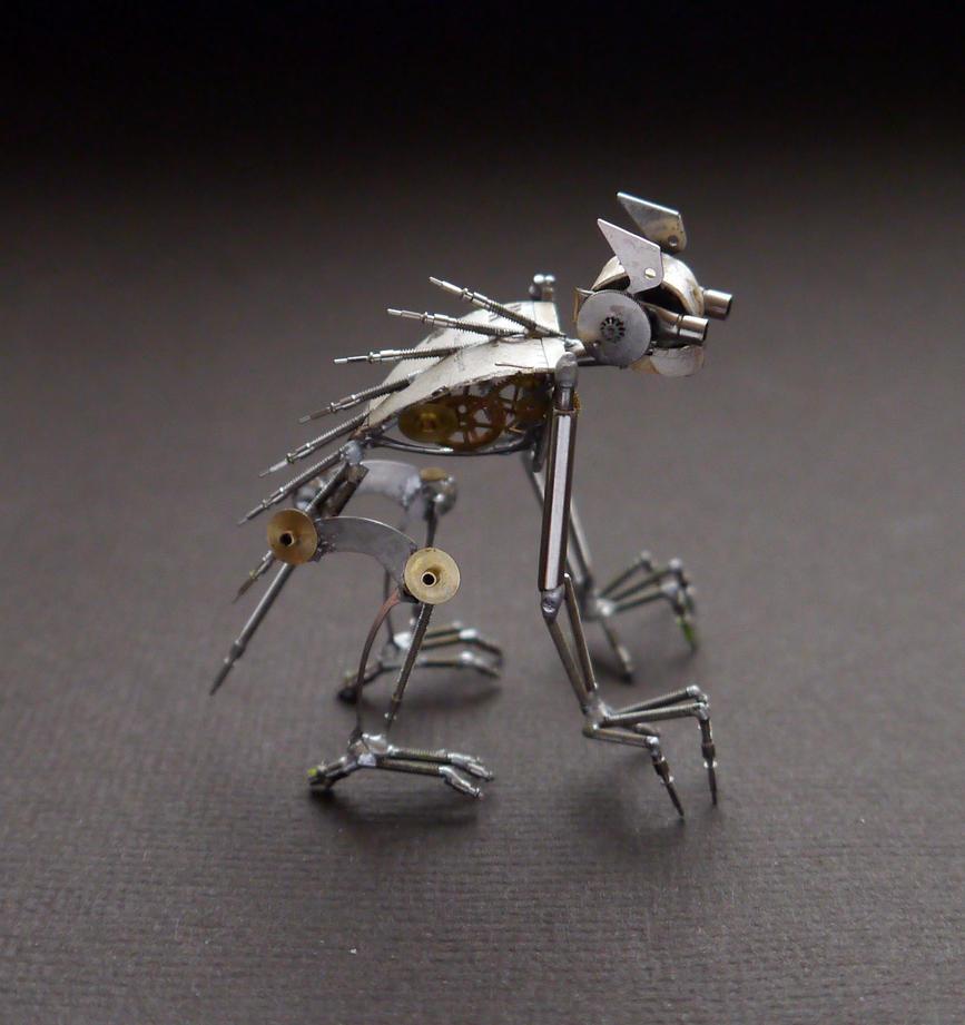 Mechanical Creature:  Lurker (II) by AMechanicalMind