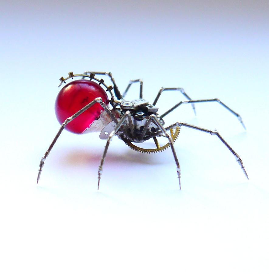 Watch Parts Spider No 60 by AMechanicalMind