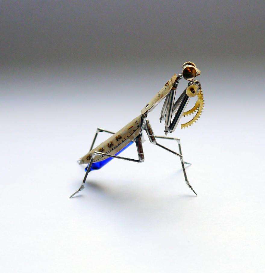 Watch Parts Mantis No 26 (II) by AMechanicalMind