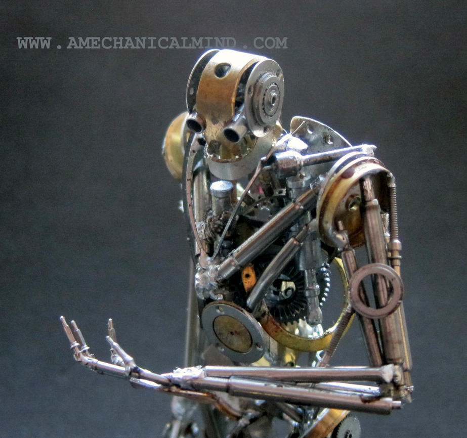 Sentience (Observe, close up) Watch Parts Humanoid by AMechanicalMind