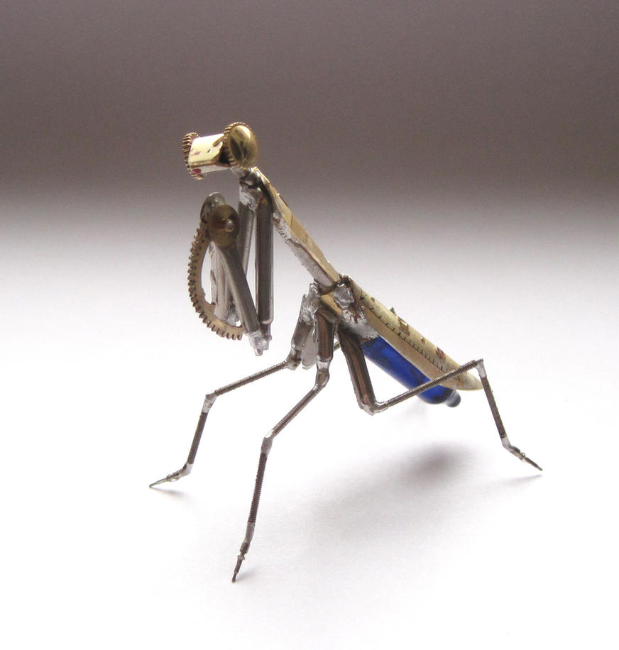 Watch Parts Mantis No 27 by AMechanicalMind