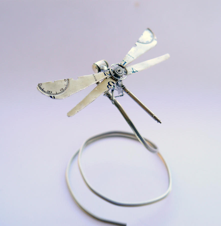Watch Parts Dragonfly No 20 by AMechanicalMind