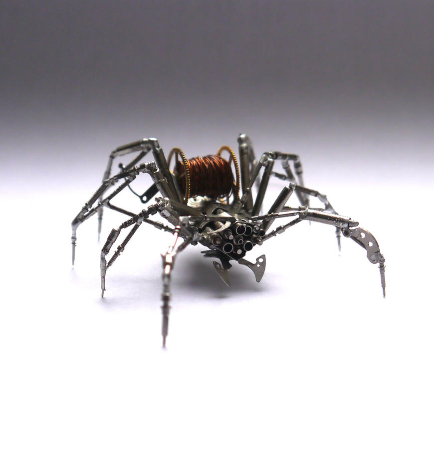 Watch Parts Spider No 69 by AMechanicalMind