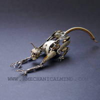 Watch Parts Creature Glitch (II) by AMechanicalMind