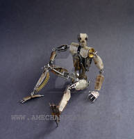Number 5 (Articulated Watch Parts Figure) II
