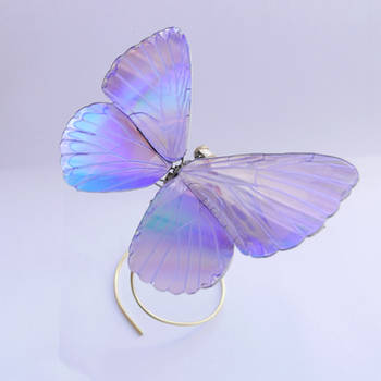 Watch Parts Butterfly with CD wings