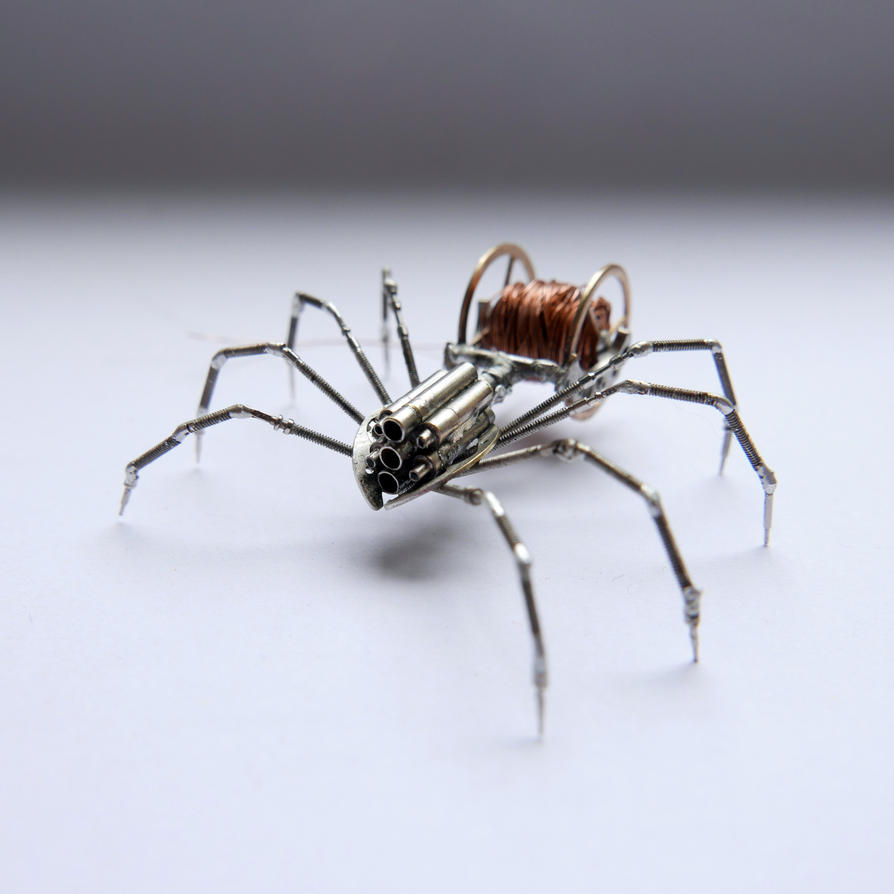 Watch Parts and Recycled Wire Spider No 86 by AMechanicalMind on ...
