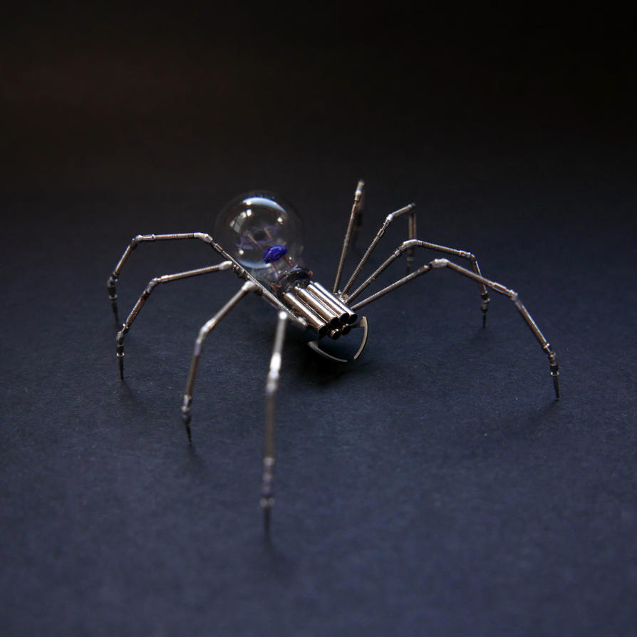 Watch Parts Spider No 88 by AMechanicalMind