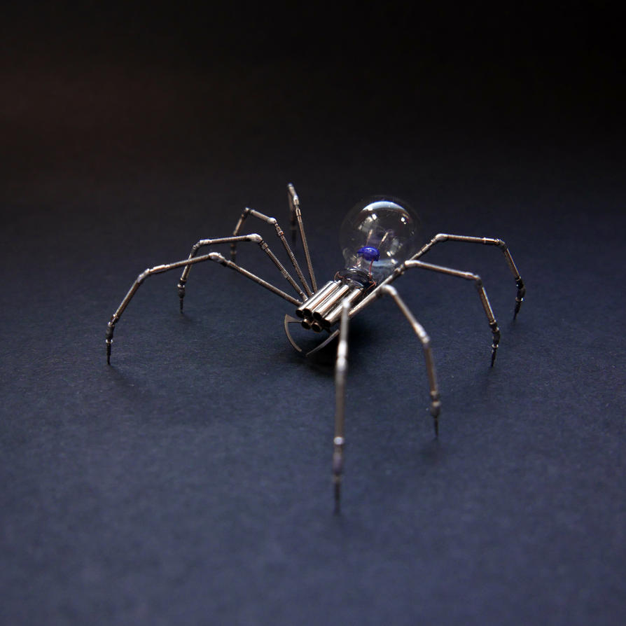 Watch Parts Spider No 88 (II) by AMechanicalMind