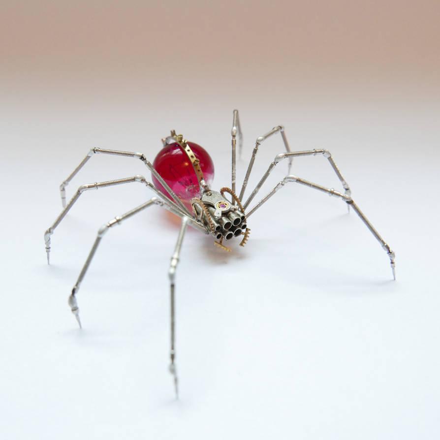 Watch Parts Spider No 90 by AMechanicalMind