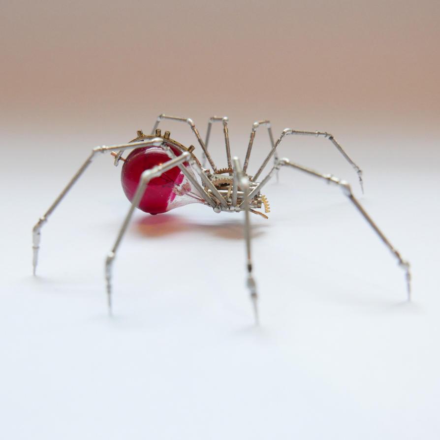 Watch Parts Spider No 90 (II) by AMechanicalMind