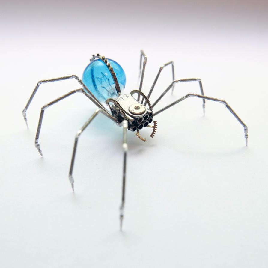 Watch Parts Spider No 91 by AMechanicalMind