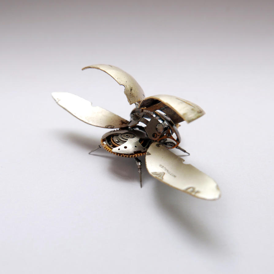 Watch Parts Beetle No 2 (II) by AMechanicalMind
