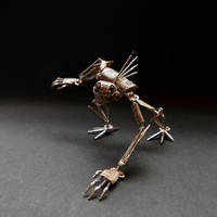 Articulated Watch Parts Creature 'Gadget' (III)