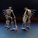 Articulated Watch Parts Creatures Septem, Hex (II)