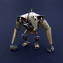 Articulated Watch Parts Creature Greeper