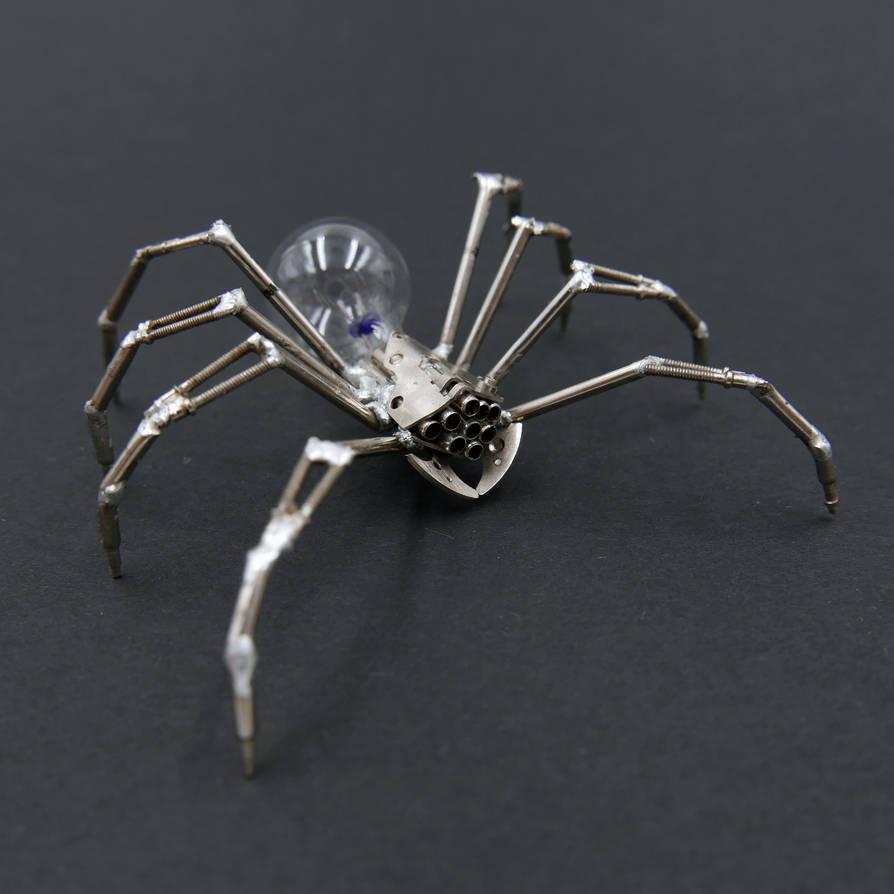 Watch Parts Spider No 98 by AMechanicalMind