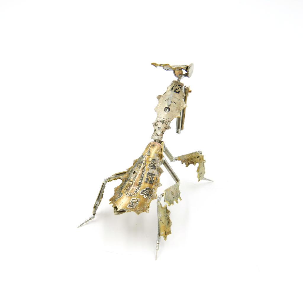 Watch Parts Praying Mantis 53 Ghost Mantis 3 (II) by AMechanicalMind