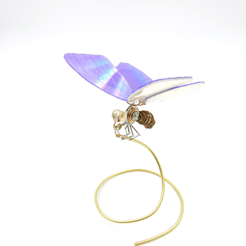 Watch Parts, DVD Winged Butterfly No 5 by AMechanicalMind