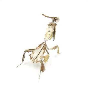 Watch Parts Praying Mantis 54 Ghost Mantis IV (II) by AMechanicalMind