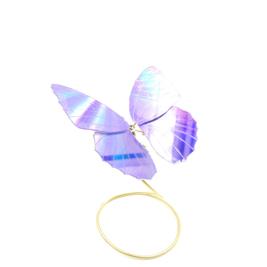 Watch Parts, DVD Winged Butterfly No 6 by AMechanicalMind