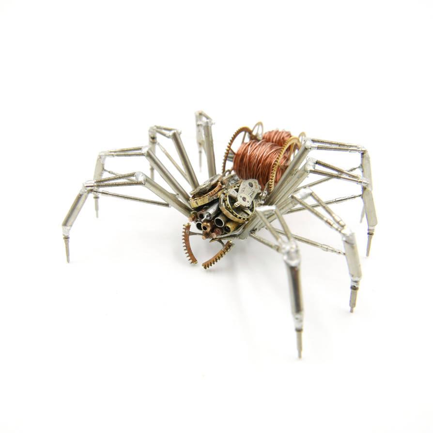 Watch Parts Spider No 100 by AMechanicalMind