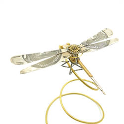 Dragonfly No 30 made from watch parts