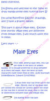 How to Draw Male Eyes by Simita