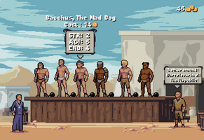 Gladiator Manager Game Mockup by aamatniekss