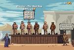 Gladiator Manager Game Mockup