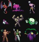 RPG creatures